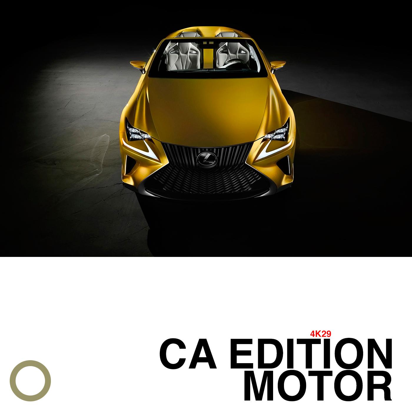 CA EDITION MOTOR 4K29
