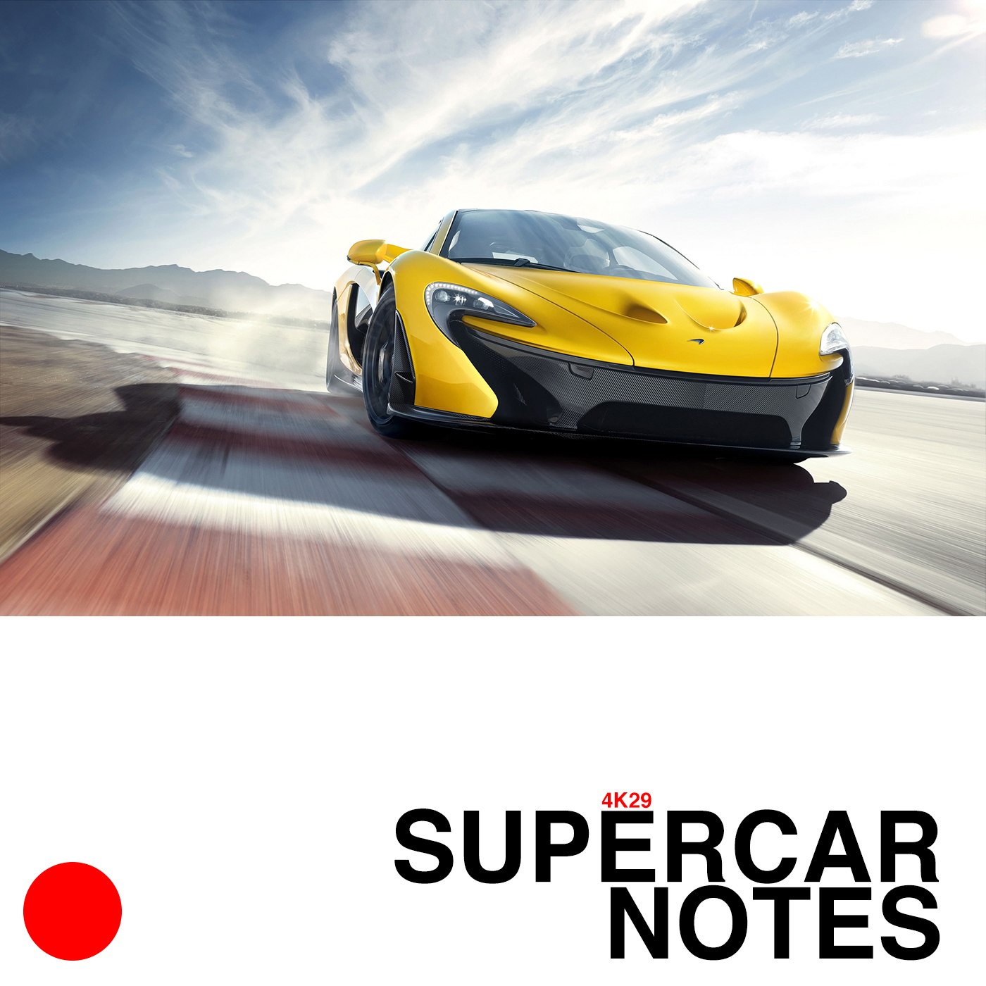 SUPERCAR NOTES 4K29