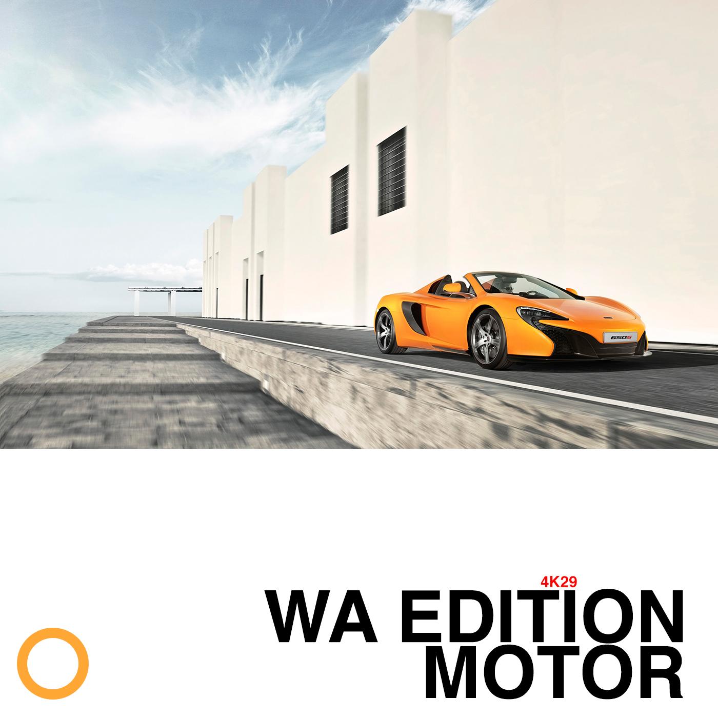 WA EDITION MOTOR 4K29
