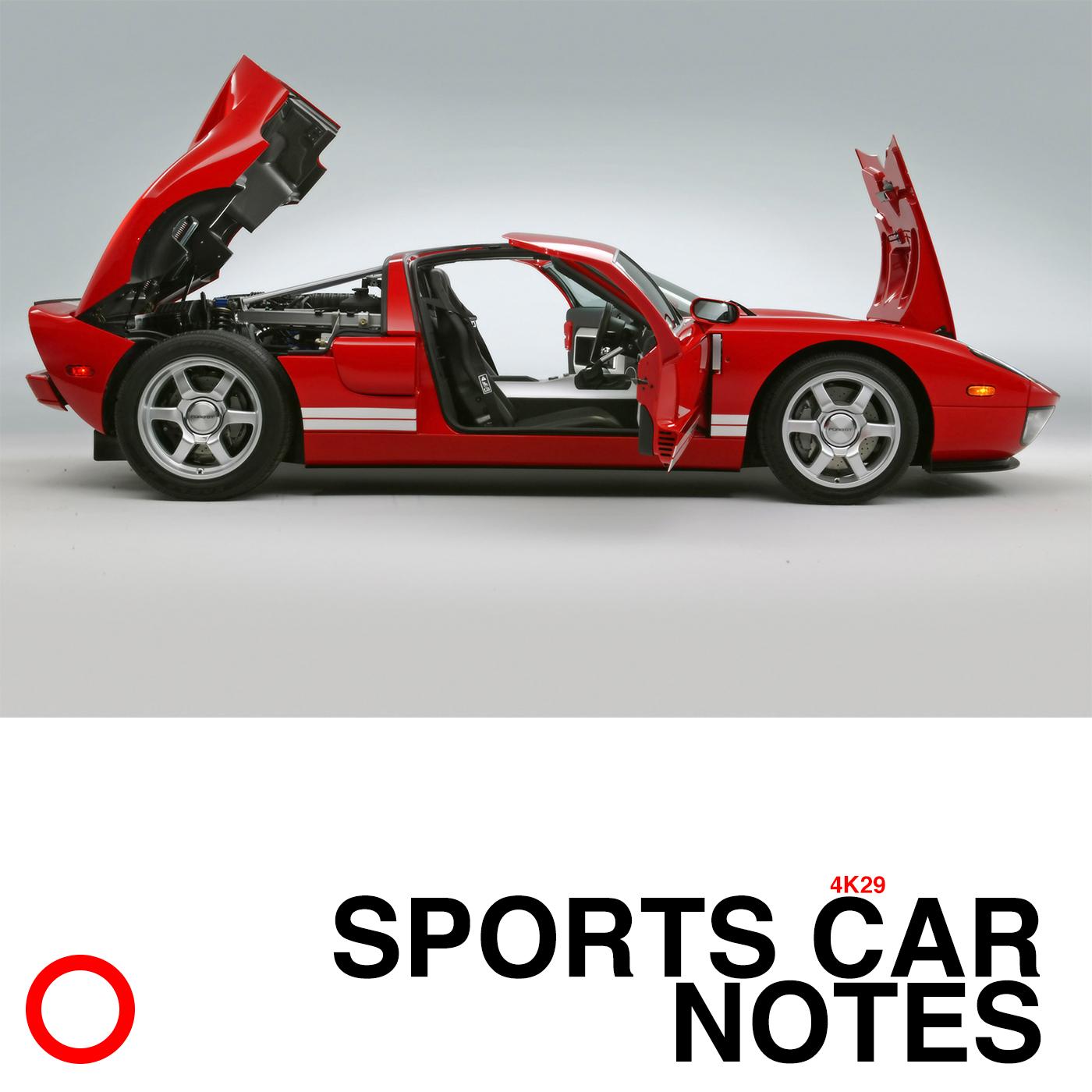 SPORTS CAR NOTES 4K29