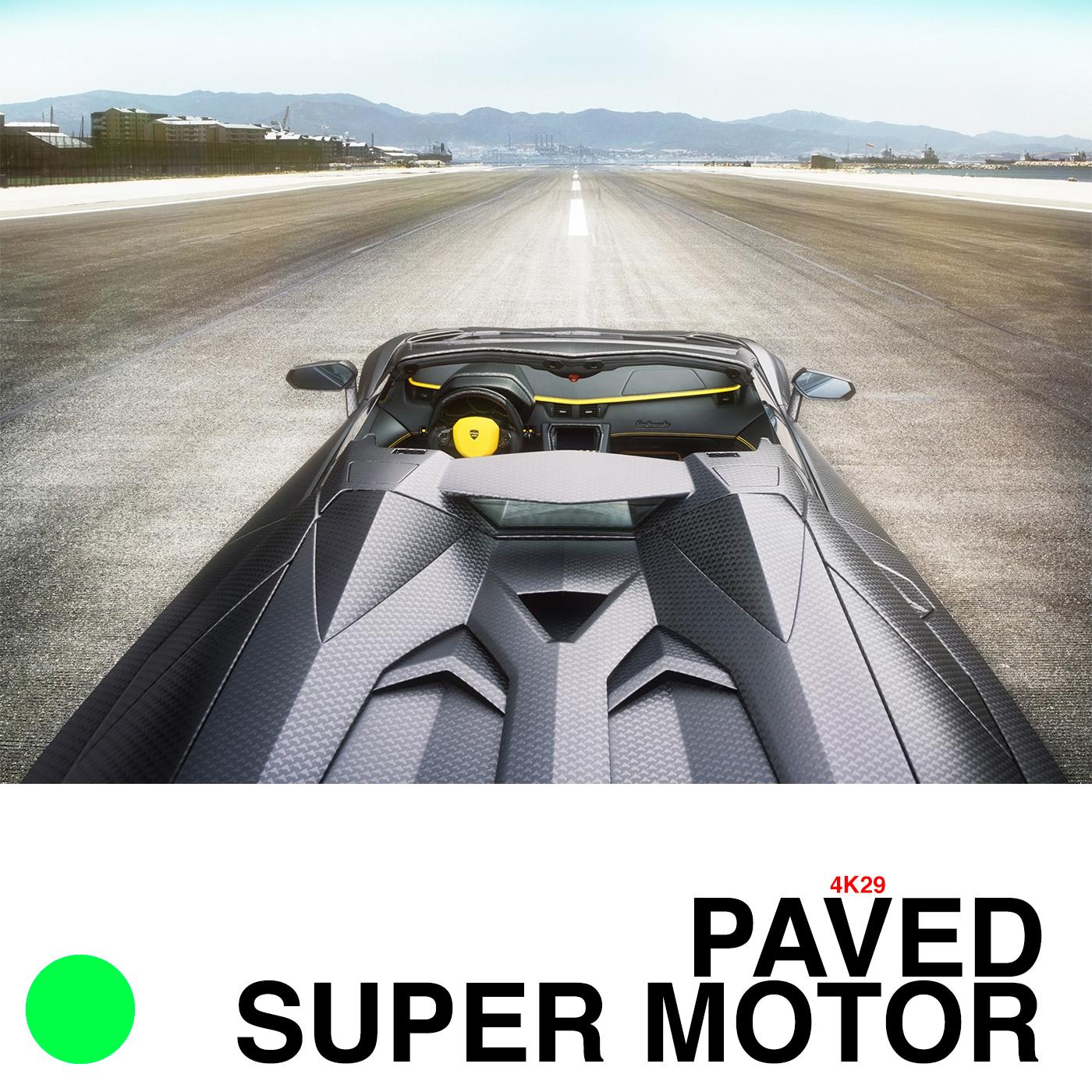 PAVED SUPER MOTOR 4K29